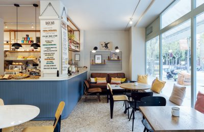 Barcino Food bar healthy interiorismo Barcelona