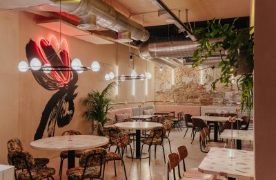 Interiorismo restaurante Chickoa
